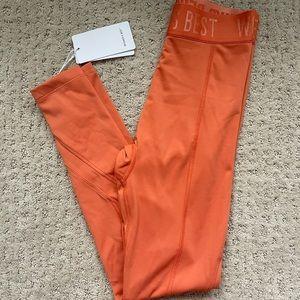 HOLD LEGGINGS- Burnt Orange
